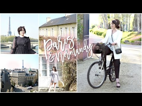 Exploring Paris & The French Countryside! | Becca Rose Travel Vlog