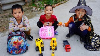 Trò Chơi Em Út Và Chàng Phù Thủy - Bé Nhím TV - Đồ Chơi Trẻ Em Thiếu Nhi