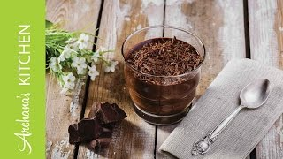 Dark Chocolate Mousse Recipe By Archana's Kitchen