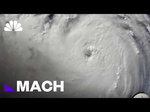 How Florence Became A Category 4 Storm   Mach   NBC News