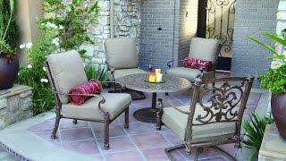 Patio Furniture Ideas - Top 10 Cast Aluminum Patio Deep Seating Set - Antique Bronze