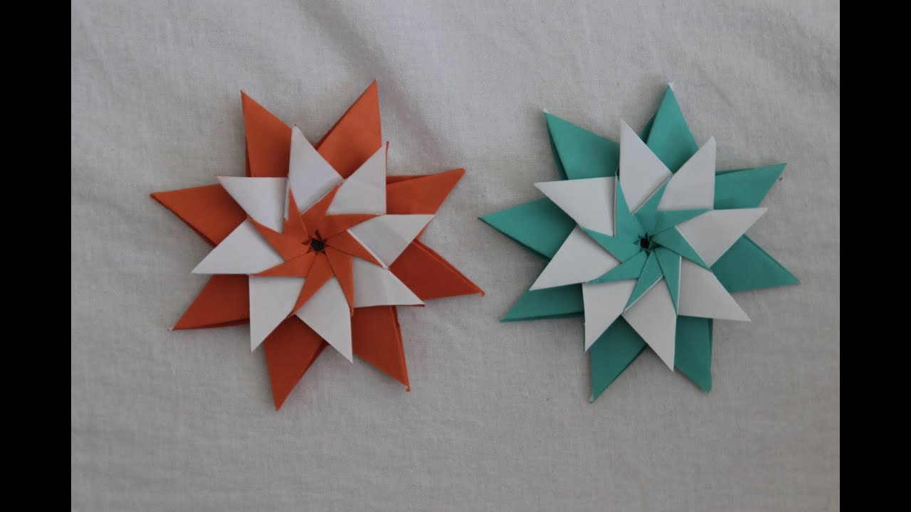 Christmas origami instructions hex star maria sinayskaya youtube - Christmas Origami Instructions Hex Star Maria Sinayskaya Youtube 6