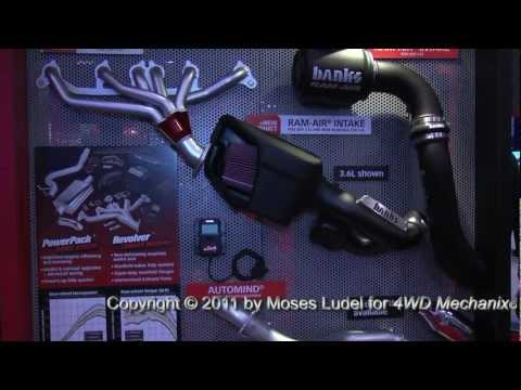 4WD Mechanix Magazine: 2011 SEMA Show—Products from Gale Banks Engineering & Banks Power!