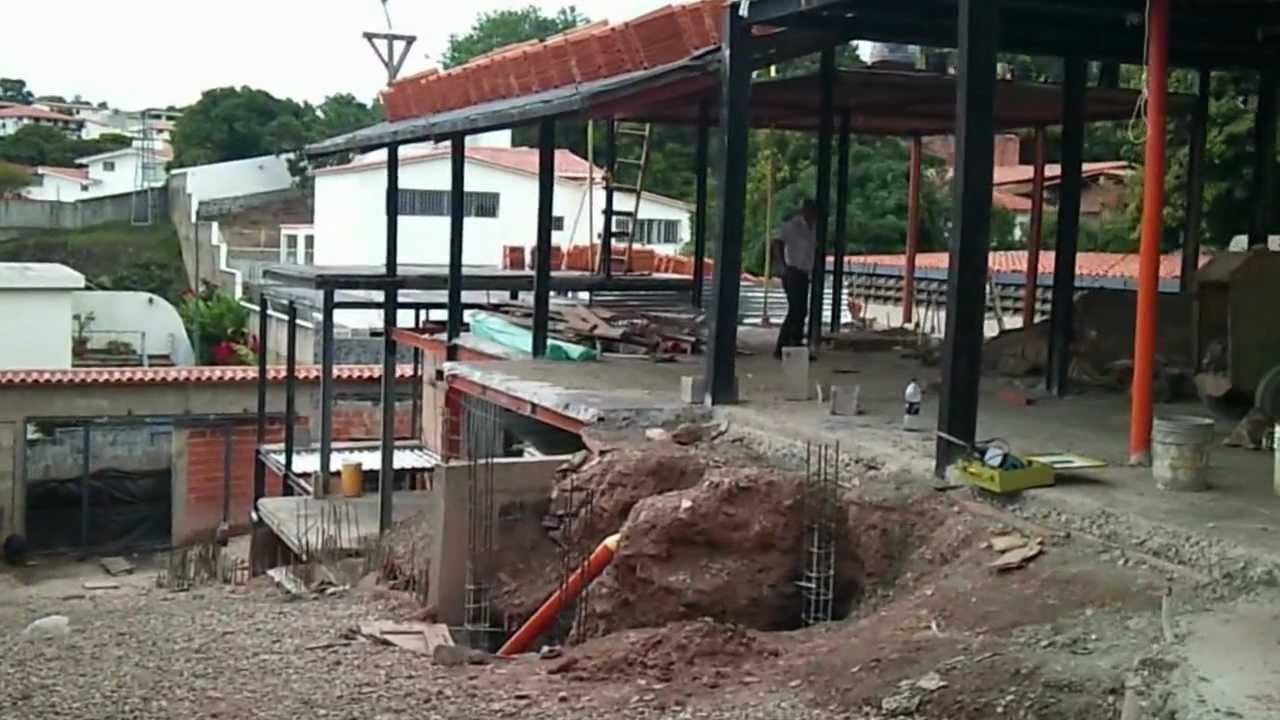 Estructura met lica aceros federales venezuela 2 youtube - Estructura metalica vivienda ...