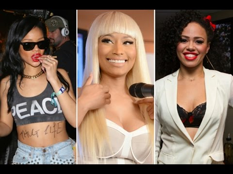 Top 10 Richest Female Rappers 2015