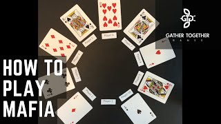 How To Play Mafia (Card Game)
