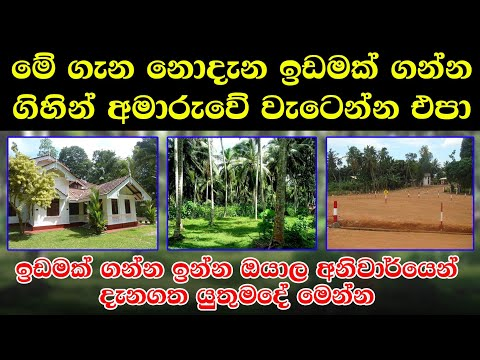 Law about land,Land sale in sri lanka,House for sale in sri lanka,Law budget lands,land for sale