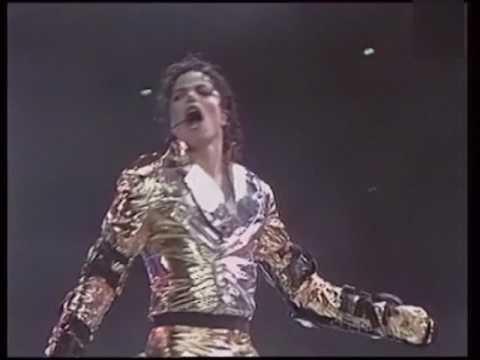 Michael Jackson - HIStory Tour Prag 1996