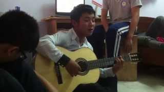 Hà Tĩnh mình thương guitar Văn Anh
