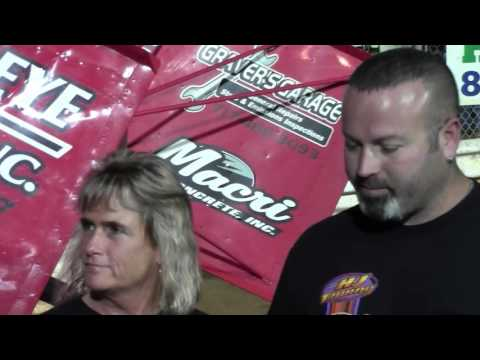 Williams Grove Speedway 358 Sprint Car Victory Lane 9-16-16