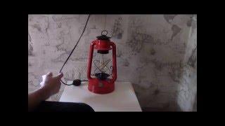 светильник своими руками из старой керосинки