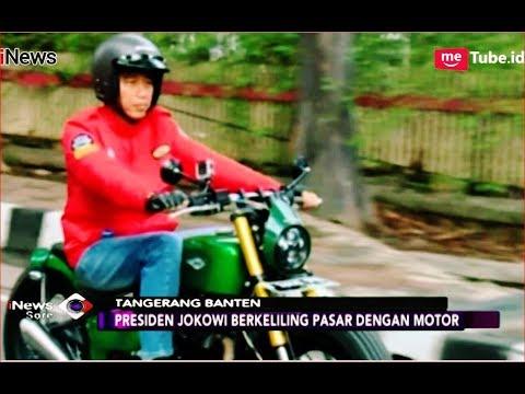 Naik Motor Baru, Presiden Jokowi Blusukan ke Pasar Anyar Tangerang - iNews Sore 04/11 Mp3