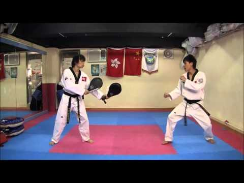 Тхэквондо видео уроки удары ногами