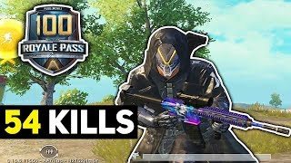 LVL 100 Season 11 RP & INSANE 54 KILLS Gameplay | PUBG Mobile