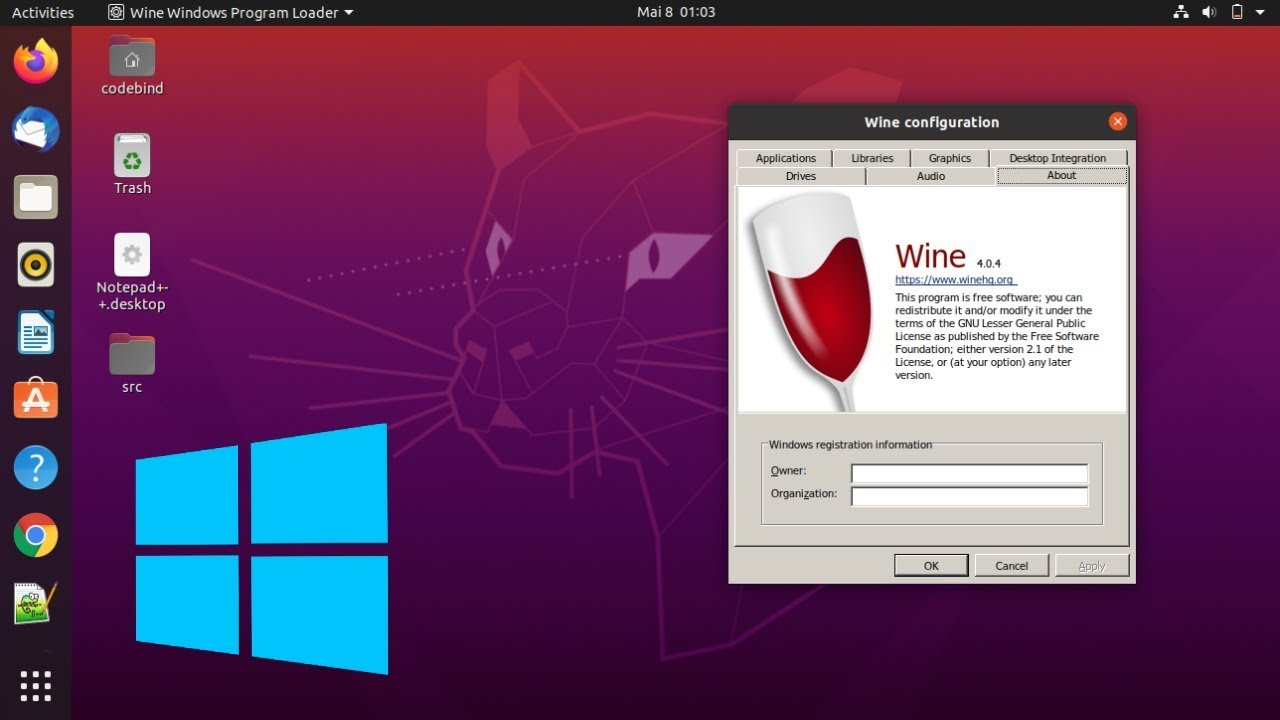 Install Wine On Ubuntu 20 04 Lts Focal Fossa Linux 2020 Running Windows Programs On Linux Youtube