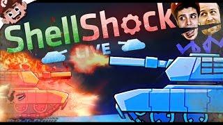 TANKS for the Memories! (ShellShock Live w/ Friends)