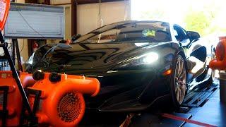 McLaren 600LT Baseline Chassis Dyno Testing