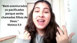 As Bem-Aventuranças- Os Pacificadores | 11/07/2021 | Mateus 5.9 | Culto Noturno |