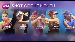 2016 WTA Shot of the Month Finalists | January