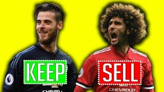 MAN UTD'S 2018/19 SUMMER TRANSFERS: KEEP OR SELL