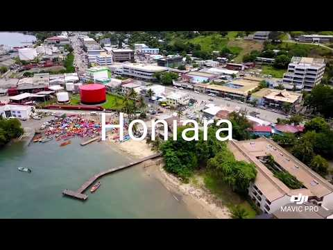 Honiara - DJI Mavic Pro