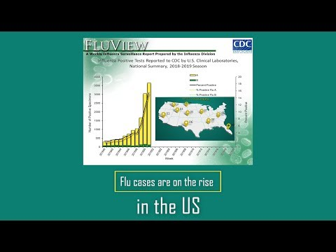 Flu activity on the rise in the US