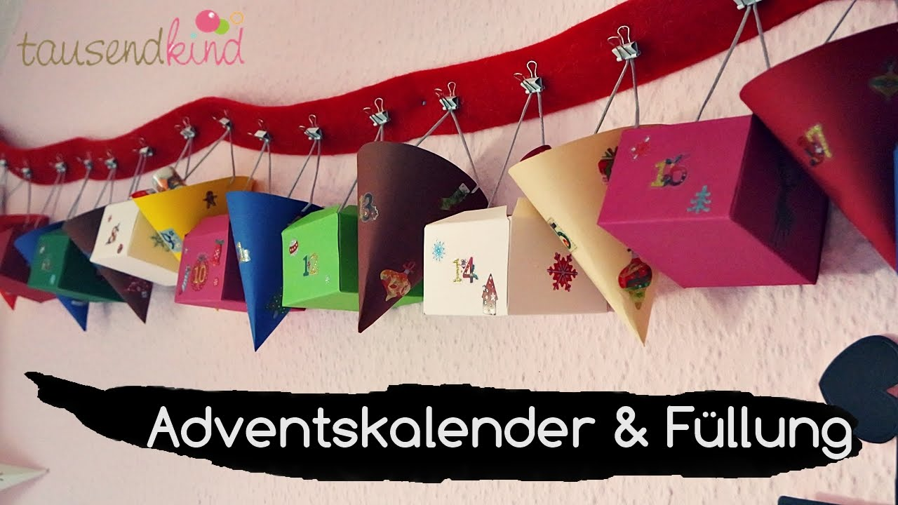 diy adventskalender und inhalt l bef llungs ideen f r kinder l tausendkind p ll mami vontami. Black Bedroom Furniture Sets. Home Design Ideas