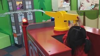 도와줘 수지소방관! 소방차 소방놀이 소방구조대 장난감 실내놀이터 키즈카페 Kids Pretend Play with Firefighter 리틀조이