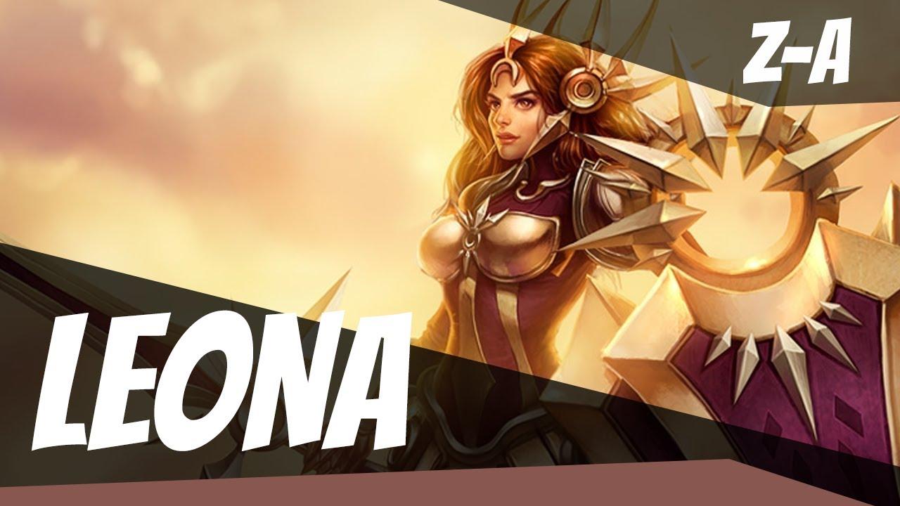 LEONA TO UKRYTY OP!