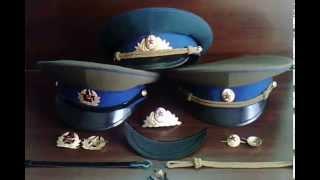 Повне зібрання КАШКЕТІВ КДБ зразка 1969 - 1991 рядові й офіцери парадний і повсякденний варіанти