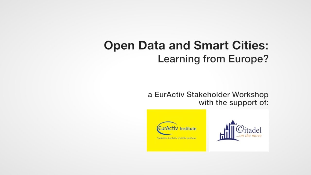 Open Data and Smart Cities: Learning from Europe