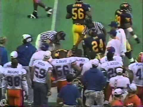 1994 Sugar Bowl Florida vs  West Virginia 1st Half