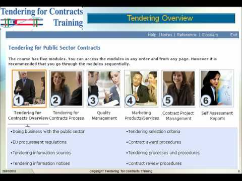 Tendering for Contracts Training 1.avi