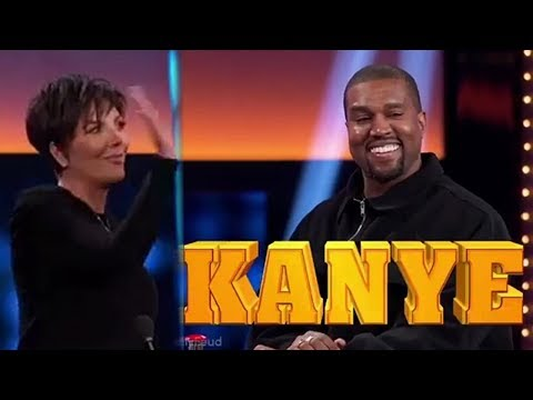 Kanye West DESTROYS Kris Jenner In Hilarious Family Feud Promo
