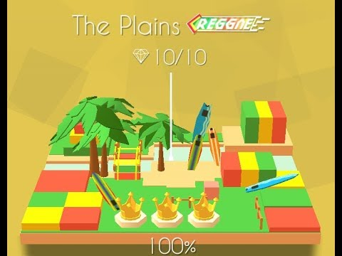 Dancing Line | The Plains (Reggae Remix) All Gems and Crowns %100