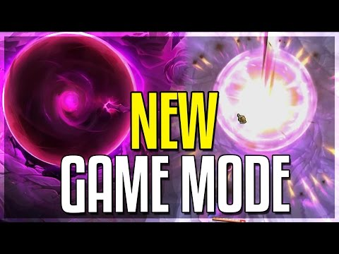 NEW GAME MODE!! (UNLIMITED RANGE HOOKS) - Dark Star Singularity Gameplay - League of Legends