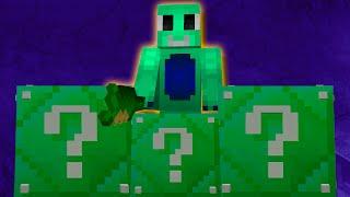 Minecraft: LUCKY BLOCKS ESMERALDA | TROTUMAN BORRACHO!! | Desafío de la Suerte Especial - #68