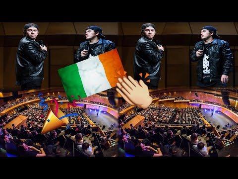 Whindersson Nunes Show em Dublin irlanda   Whindersson Pelo Mundo #4
