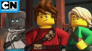 The Secret Ninja Base | Ninjago | Cartoon Network