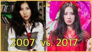 The Evolution of SUNMI (2007-2017)