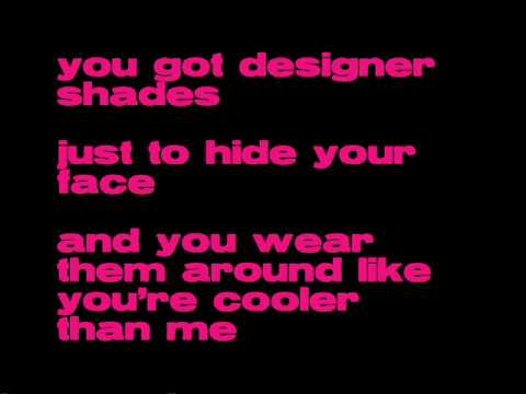 Mike Posner - Cooler than me Lyrics