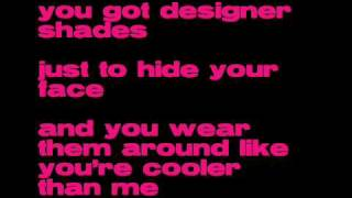 Mike Posner - Cooler than me Lyrics