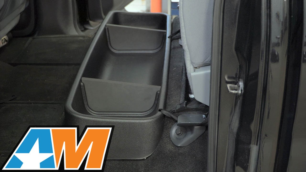 2009 2014 F 150 Husky Gearbox Storage Systems Under Seat Storage Box