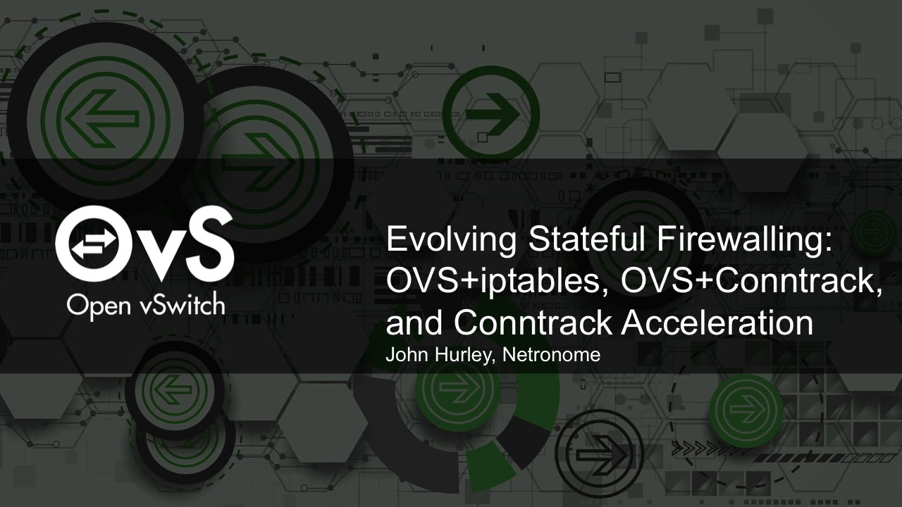 Evolving Stateful Firewalling: OVS+iptables, OVS+Conntrack, and Conntrack  Acceleration