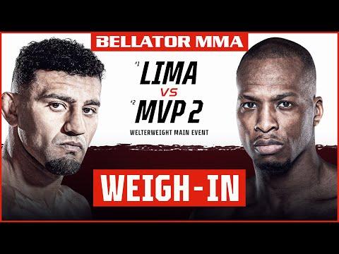 Weigh Ins   Bellator 267: Lima vs. MVP 2