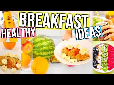 Healthy Breakfast Ideas! Fast, Easy & Delicious!