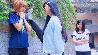 崇光藍茵大傳7th成發片 搞笑片-12星座女生遇到情敵的反應