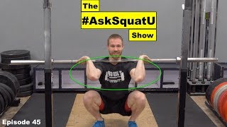 How To Improve Your Front Rack Mobility  |#AskSquatU Show Ep. 45|