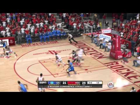 nba-live-15:-nba-playoffs--rockets-vs-warriors