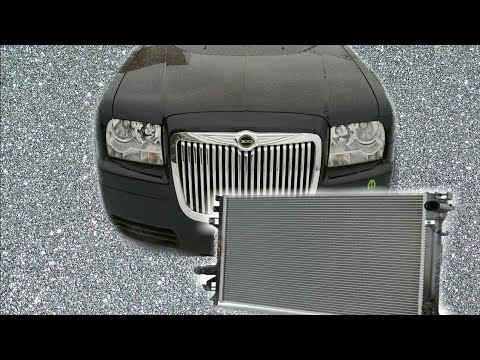 How to replace a leaking radiator on a chrysler 300